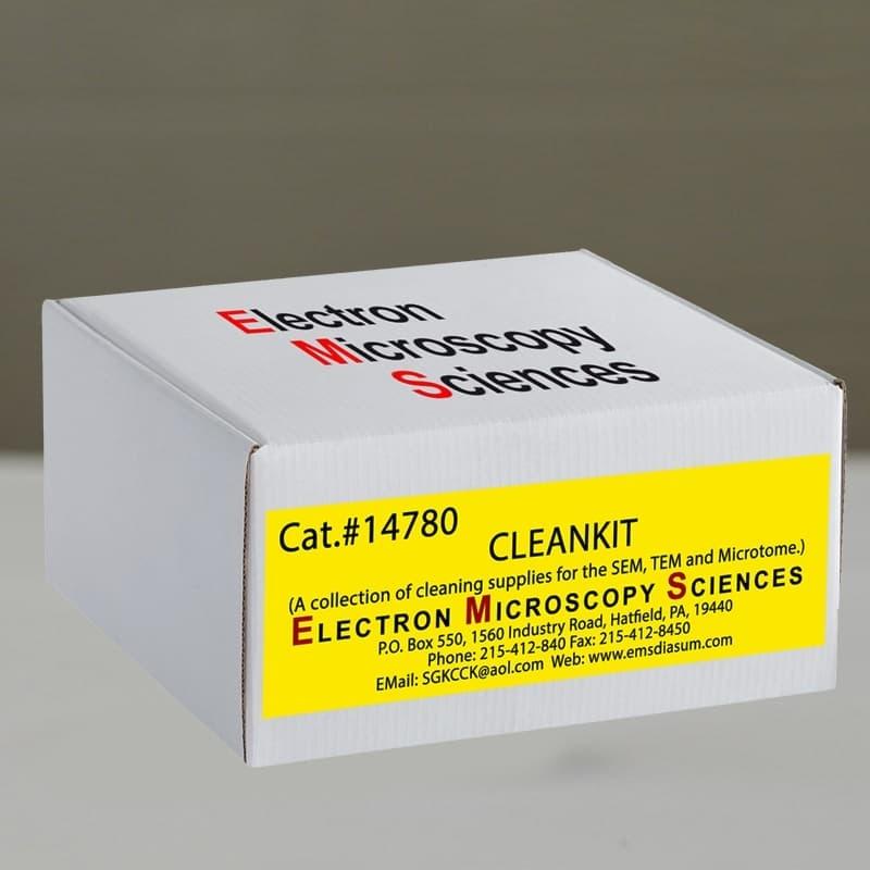 Cleankit - стартовый набор для лаборатории микроскопии
