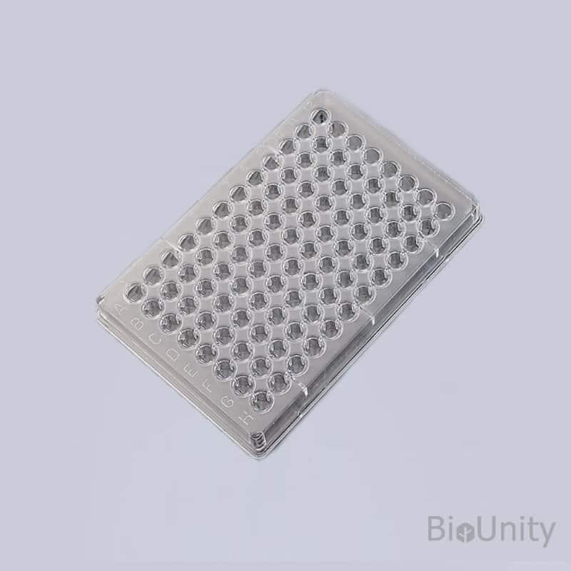 Планшет серологический 96-луночный, для микротитрования, с V-образным дном, стерильный, PS