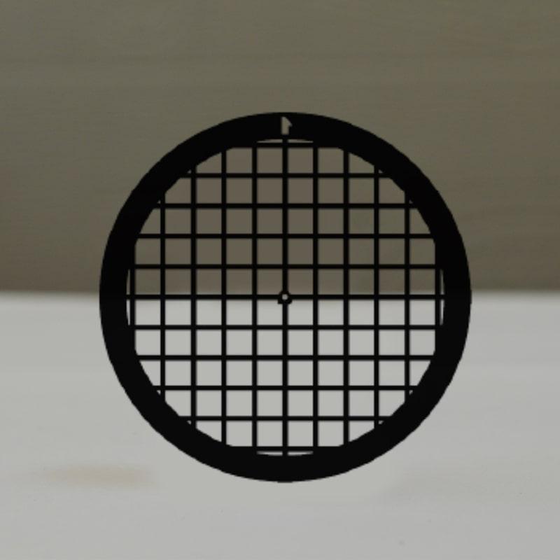 Сеточки для микроскопии, никелевые, 100 квадратных ячеек