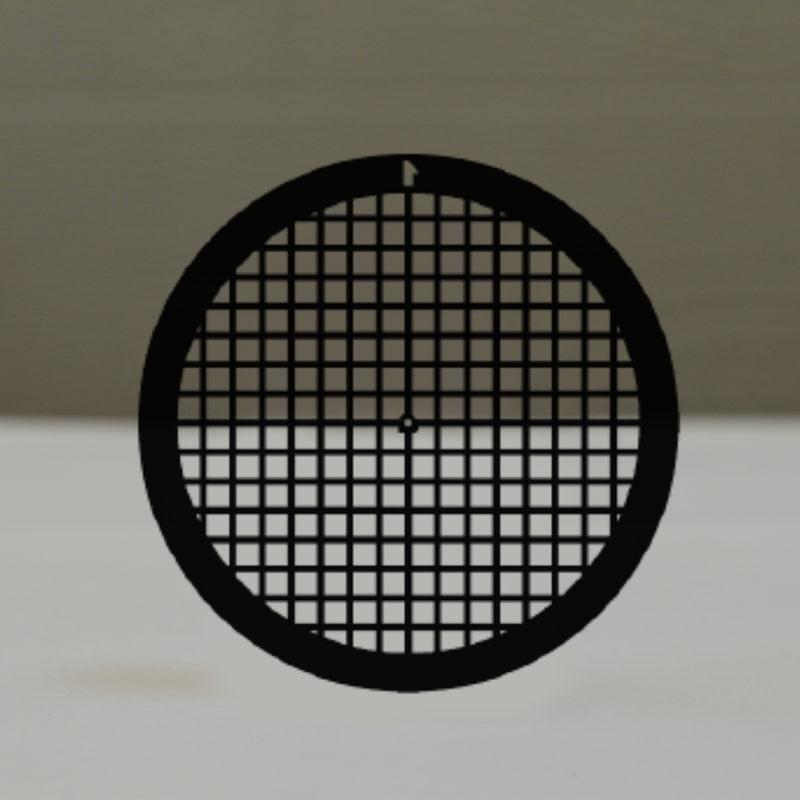 Сеточки для микроскопии, никелевые, 150 квадратных ячеек