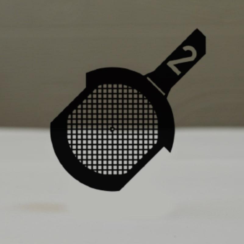 Сеточки для микроскопии с рукояткой, медные, 200 квадратных ячеек