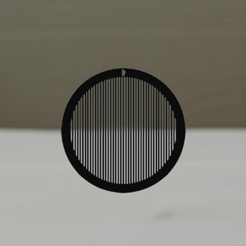 Сеточки для микроскопии с прямоугольными ячейками, Тип G400P, никелевые