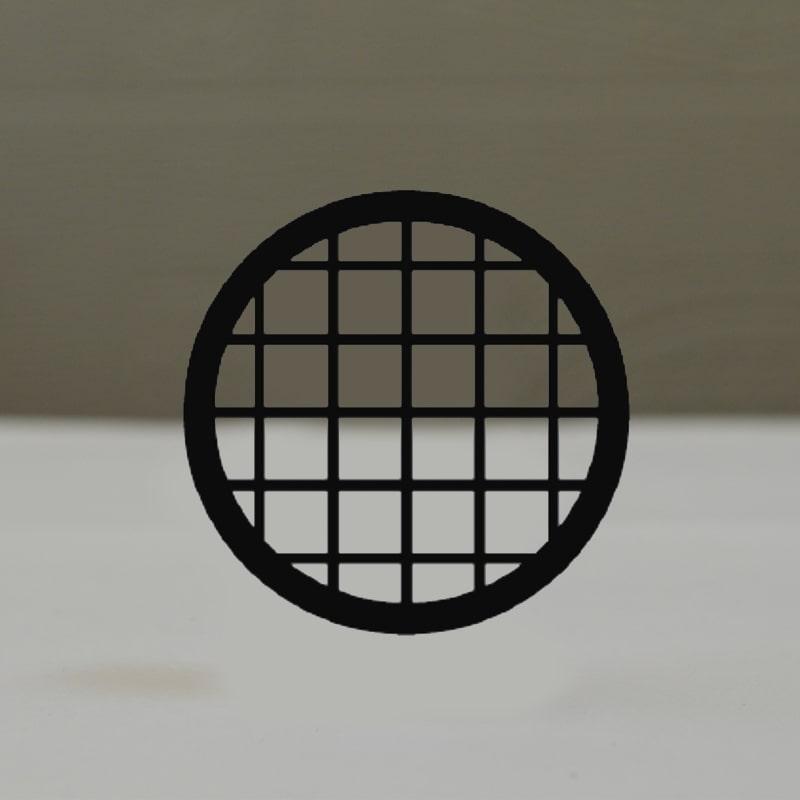 Сеточки для микроскопии, никелевые, 50 квадратных ячеек