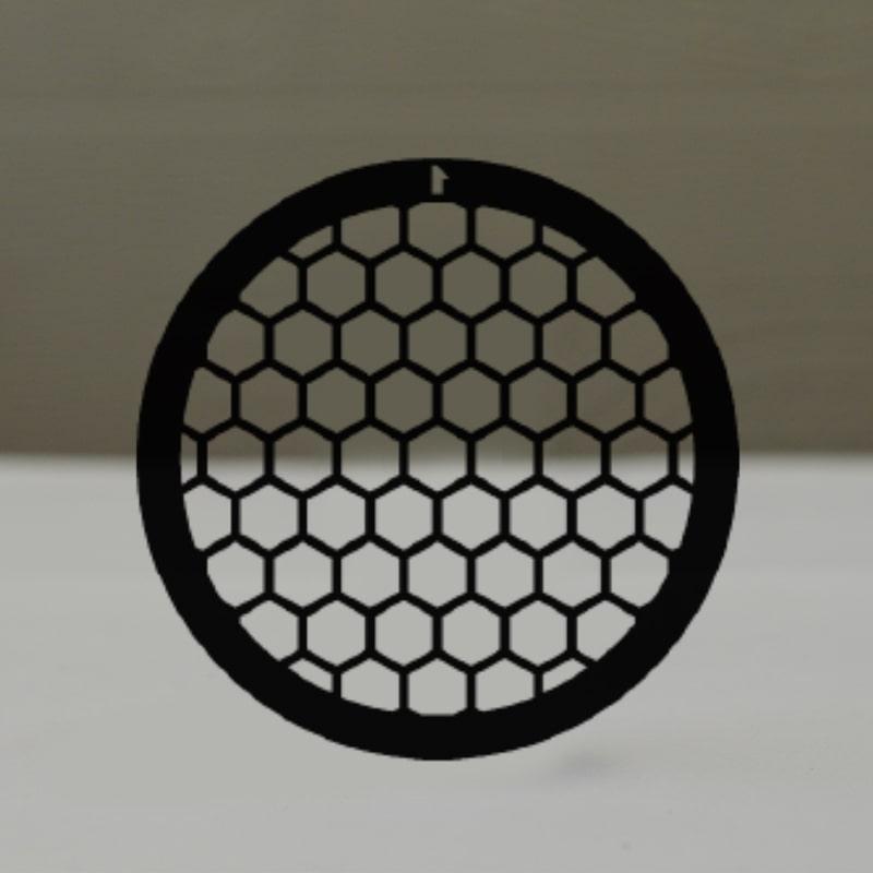 Сеточки для микроскопии, медные, 75 гексагональных ячеек