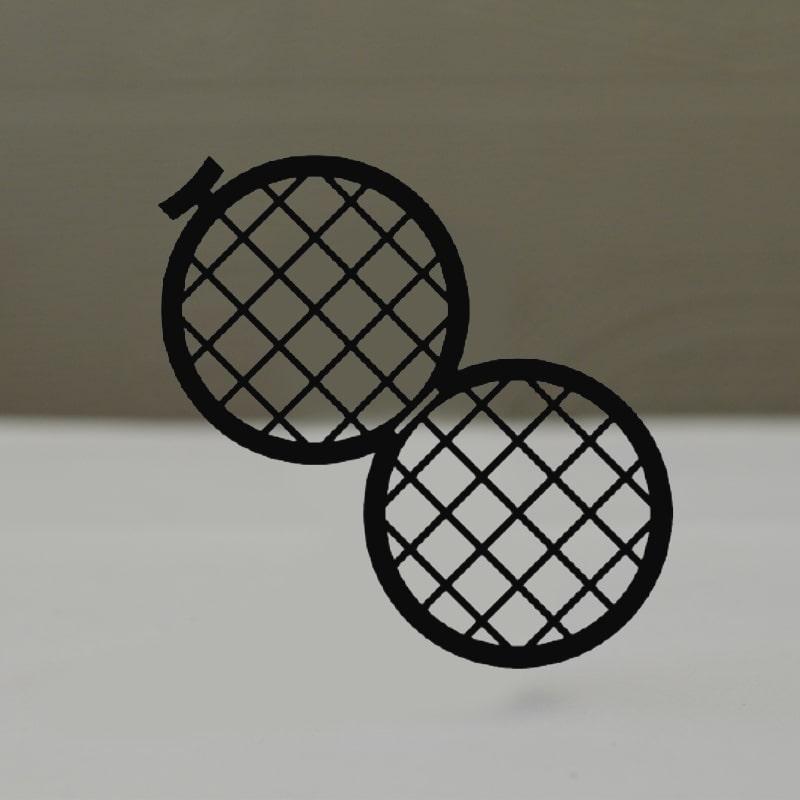 Сеточки для микроскопии, двойные, никелевые, Тип GD50/50
