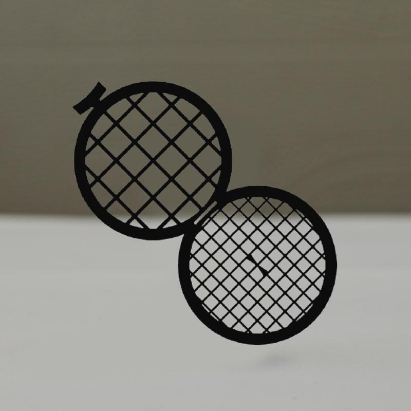 Сеточки для микроскопии, двойные, медные, Тип GD50/100