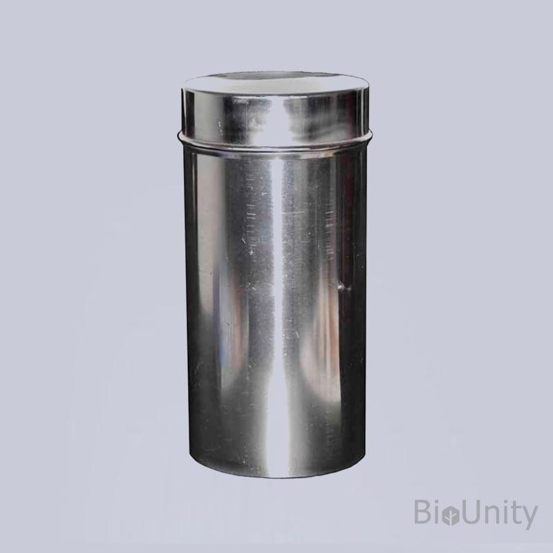 Пенал для стерилизации чашек Петри, размер 110 x 230 мм, нерж. сталь