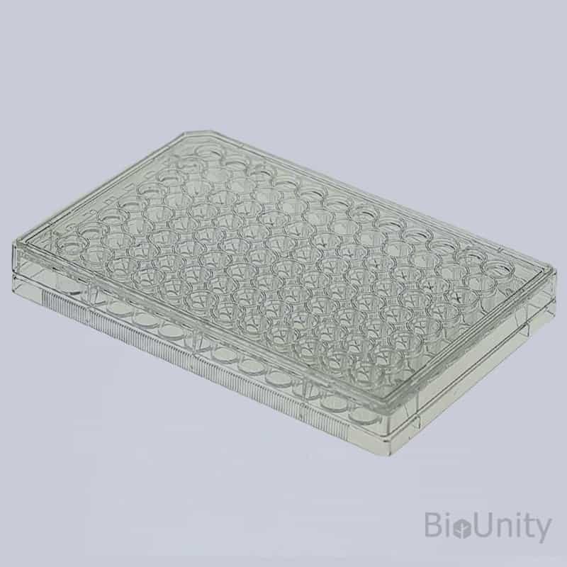 Планшет для ИФА (планшет иммунологический) 96-луночный, поверхность с высокой связываемостью, плоское дно, без крышки