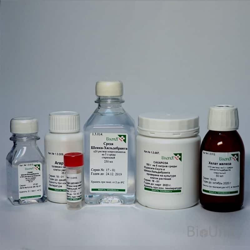 Набор реагентов для приготовления 5 литров среды ШЕНКА-ХИЛЬДЕБРАНТА