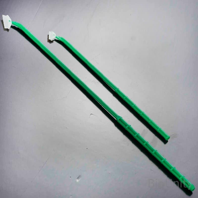 Скребок для культур клеток, L= 39 см, скрейпер (лезвие 3 см, параллельно ручке), стерильный, индивидуальная упаковка