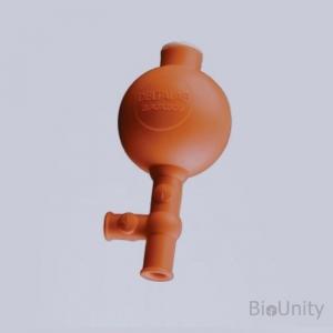 Груша для пипеток с обратным клапаном, V= 25 мл, резина
