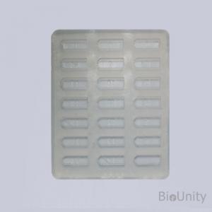 Стандартная плоская форма из прозрачного силикона