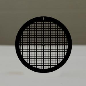 Сеточки для микроскопии с комбинированной решеткой, медные, 200 квадратных ячеек