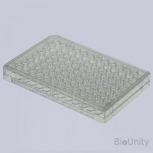 Планшет культуральный 96-луночный, с необработанной поверхностью, для суспензионных культур клеток, с крышкой, плоскодонный, стерильный, PS
